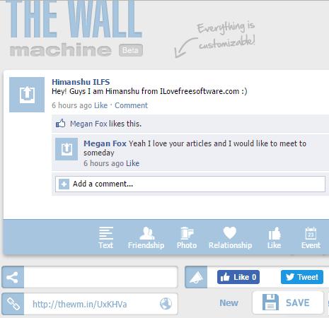 The Wall Machine