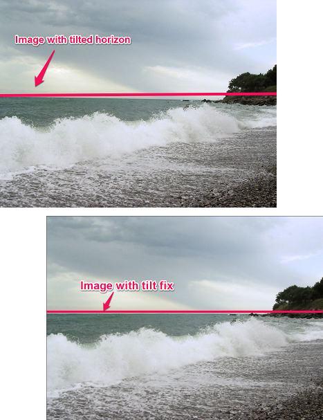 Software to Straighten Photos