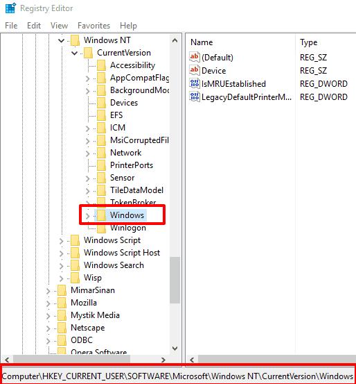 access Windows key