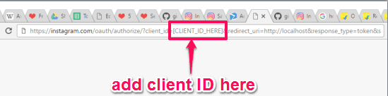 add client ID and press enter