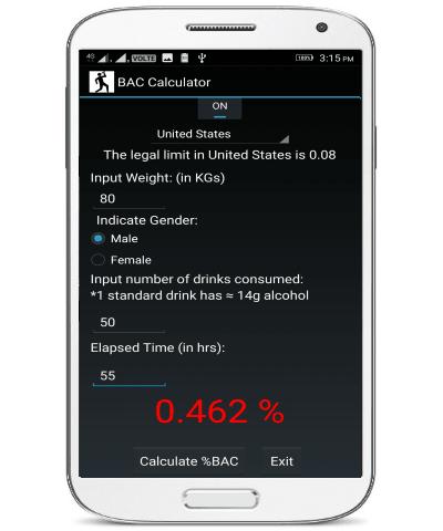 bac result