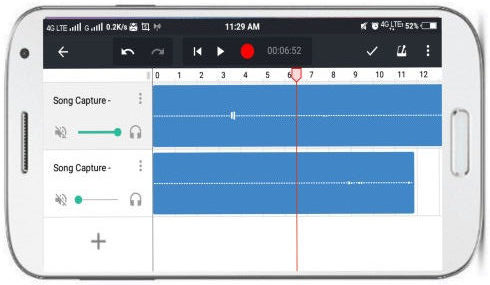 bandlab music maker- free audio mixer android app