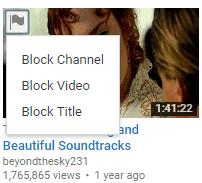 block youtube channel