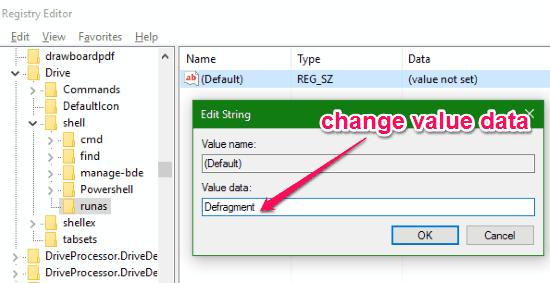 change key value