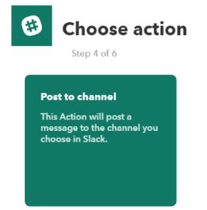 choose action