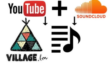 collaboratively create youtube and soundcloud playlists