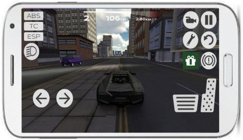 drive sports car in extreme driving car simulator'