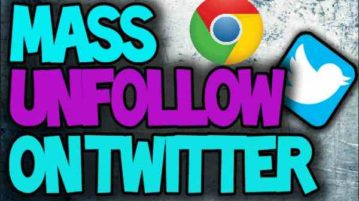 free chrome extensions to mass unfollow everyone on twitter