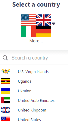 hola vpn- select a country to access unlimited vpn