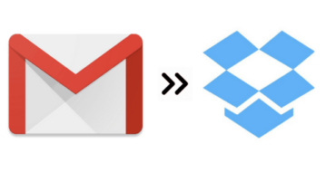 how to automatically backup gmail emails to dropbox