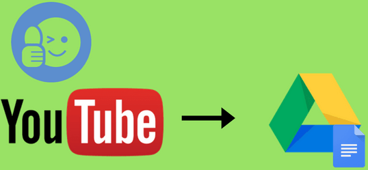 how to automatically log liked youtube videos to google sheets