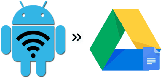 how to log android wifi connection history to google drive