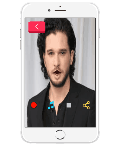 mouth talking app