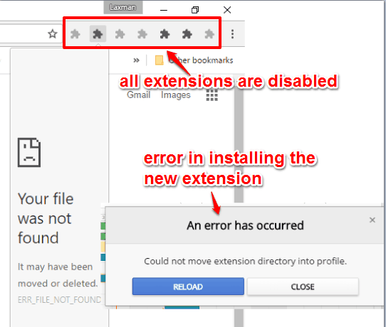 Prevent A User from Installing and Running Chrome Extensions