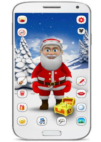 santa claus- talk with santa