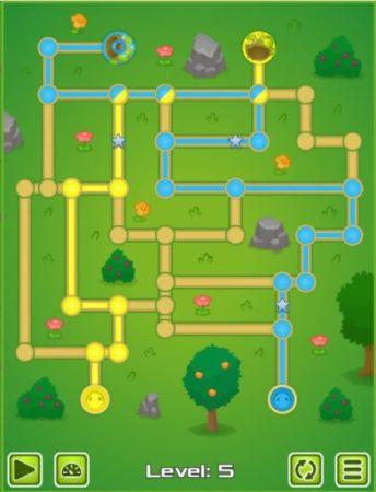 snake slither maze