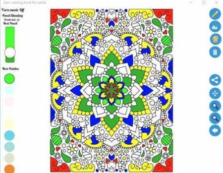 zen coloring app for adults design