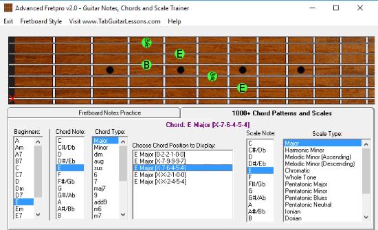 4 free guitar learning software for windows. Black Bedroom Furniture Sets. Home Design Ideas