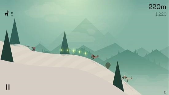 Alto's Adventure gameplay