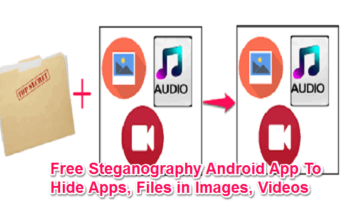 Android App To Hide Apps, Files in Images, Videos featured