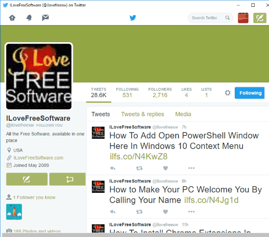Chrome Extension for Twitter to Open Twitter in Separate Pop-Up window