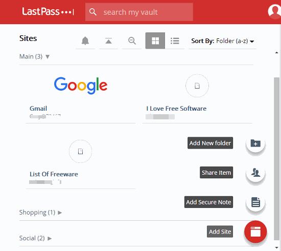 LastPass adding