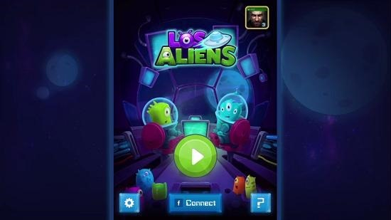 Los Aliens Main Menu