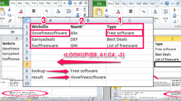 Reverse Lookup In Excel featured
