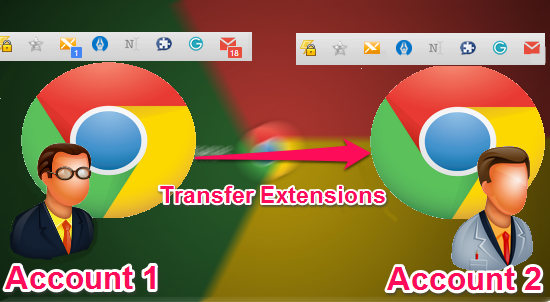 Transfer Chrome Extensions From One Google Account to Another