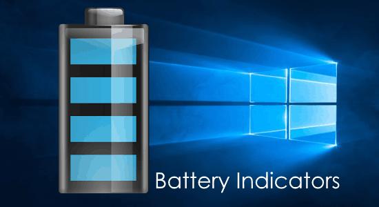 windows battery indicator