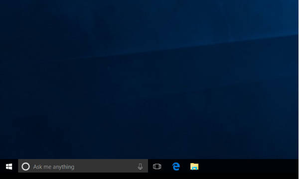 how to change color of search box in windows 10 taskbar