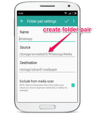 How To Change The Media Download Directory Of Whatsapp