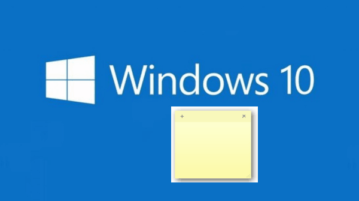 get old classic sticky notes in windows 10