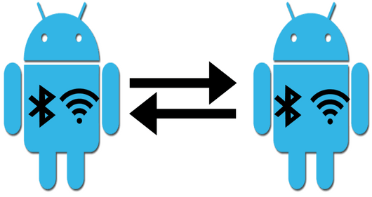 how to control bluetooth wifi of one android device from another
