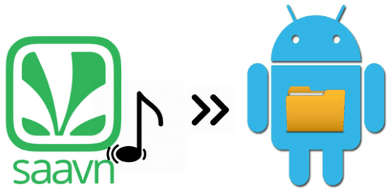 how to download songs from saavn android app