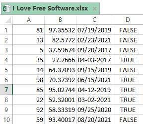 how to generate random numbers in excel