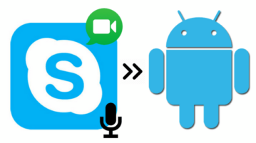 how to record skype audio and video calls on Android