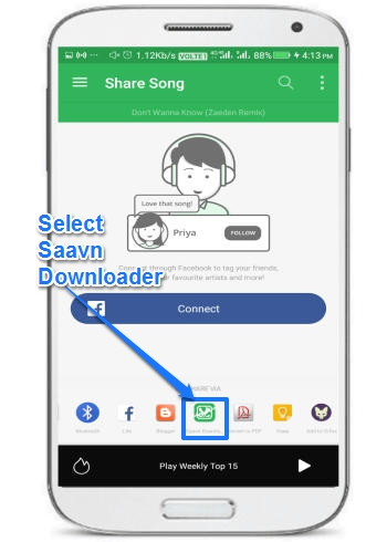 How To Download Songs From Saavn Android App To Phone
