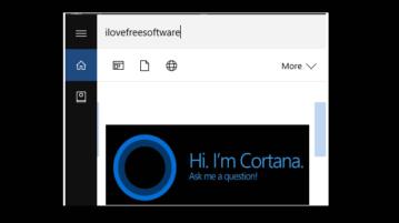show cortana search box on top in windows 10