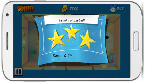 tom and jerry mouse maze game- level completed