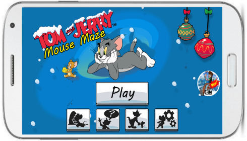 tom and jerry mouse maze game- main interface