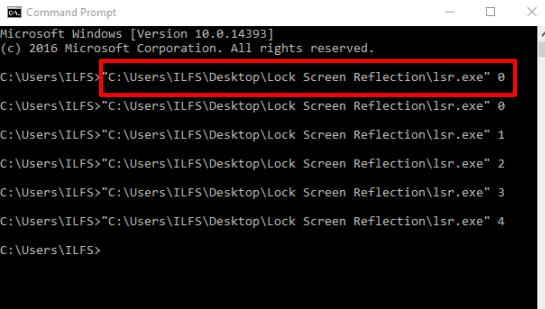 use cmd to set desktop wallpaper view mode