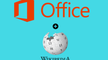 wikipedia add-in for word excel