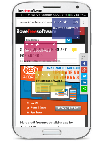 5 free floating notes android apps-sticky notes
