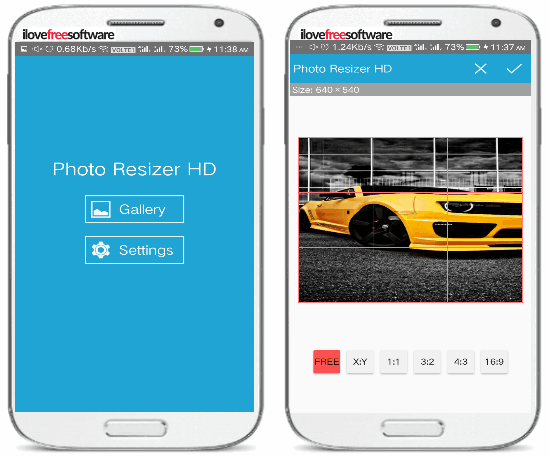 5 free photo resizer android apps- photo resizer HD