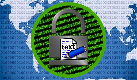 Secure Notepad to Create Encrypted Text File