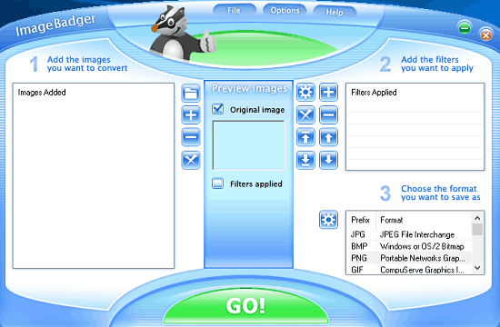 ImageBdger interface