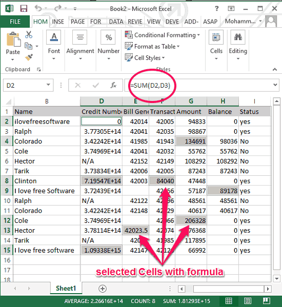 Select Cells With Formula in Excel