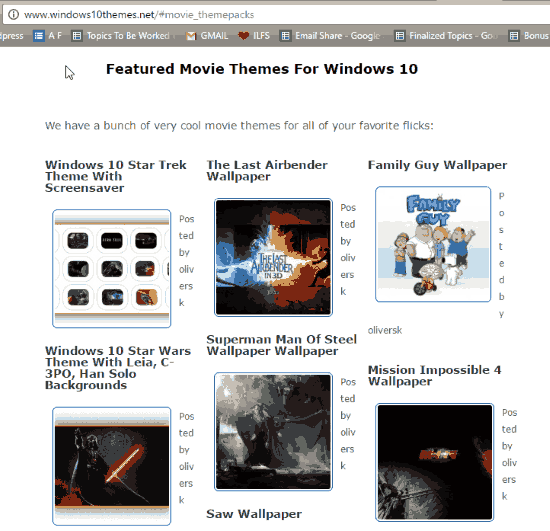 free windows 10 themes