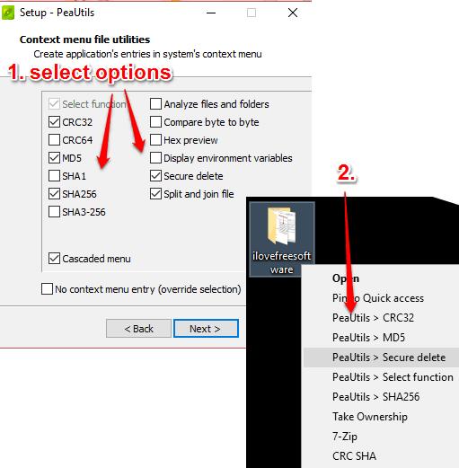 add software options to windows context menu